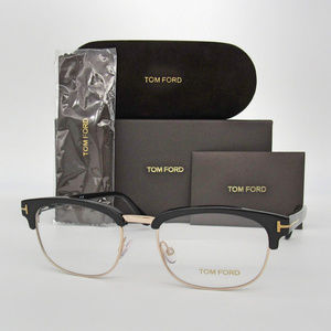 Tom Ford TF5458 001 Shiny Black 51mm Eyeglasses